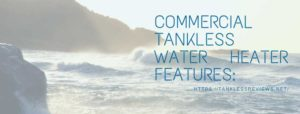 Commercial Tankless Water heater Features