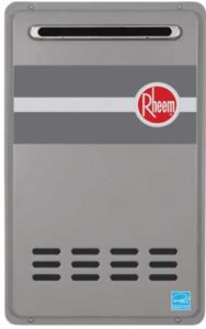 Rheem RTG-95XLN Outdoor Whole HOuse Tankless Water Heater Low NOx 9.5 GPM 2020