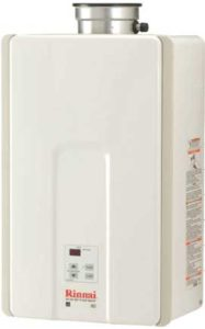 Rinnai V65IN Indoor 6.6 GPM Low NOx Tankless Water Heater 2019