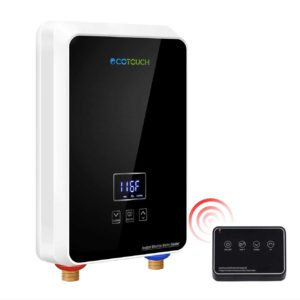 ECOTOUCH Digital Display Remote Control On-Demand Hot Heaters